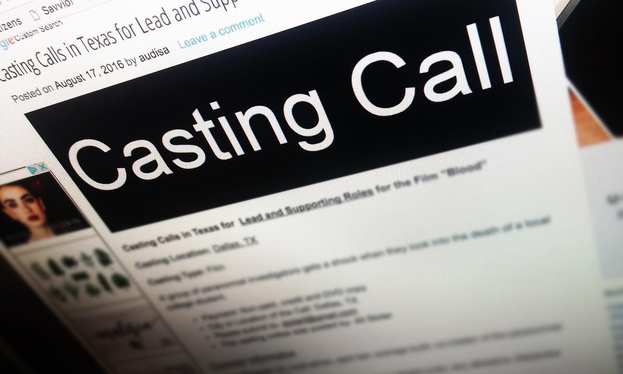 Write a Detailed Casting Call