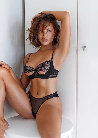 Swimsuit or Lingerie Model